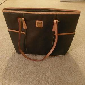 Classic Dooney & Bourke tote bag